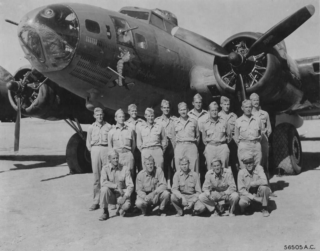 B-17 #41-24360 / Hell's Kitchen
