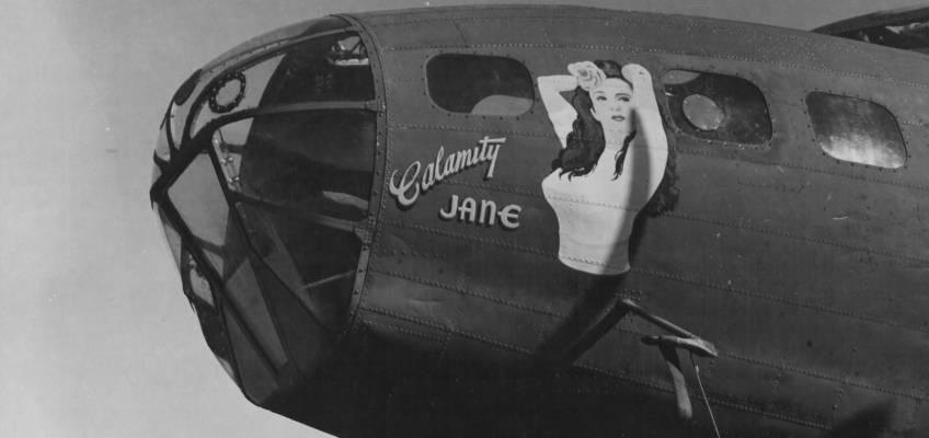 Boeing B-17 #41-2440 / Calamity Jane