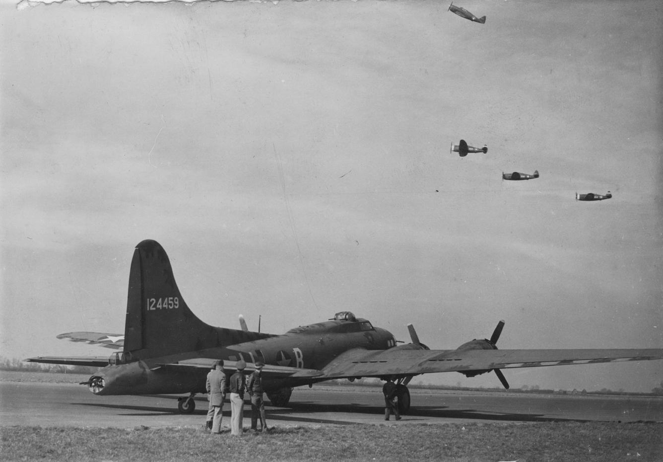 B-17 #41-24459 / Hellsapoppin