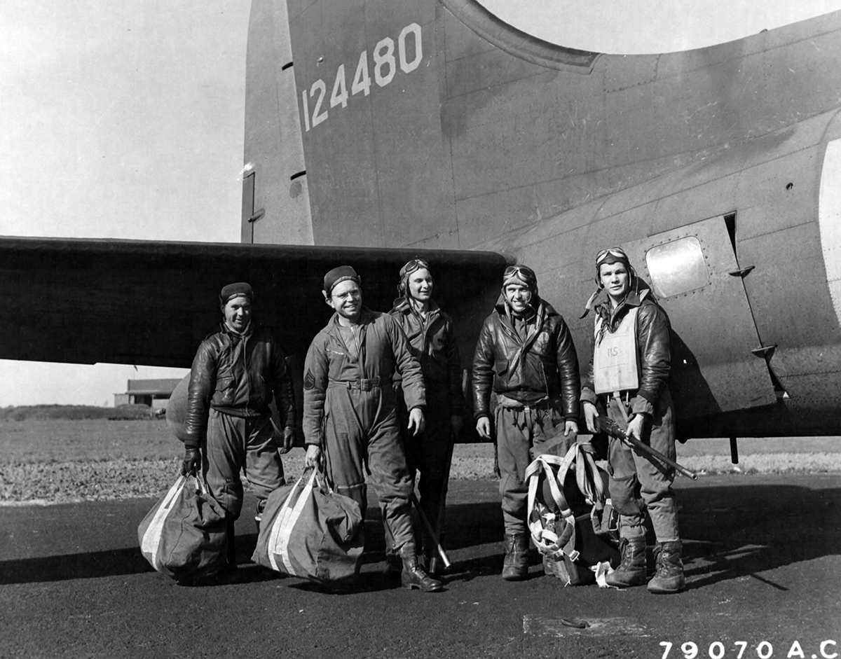 B-17 #41-24480 / The Bad Penny