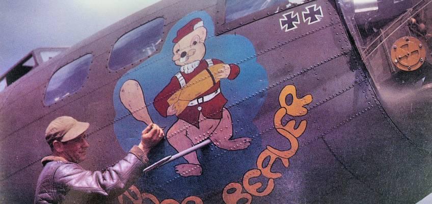 Boeing B-17 #41-24487 / Eager Beaver