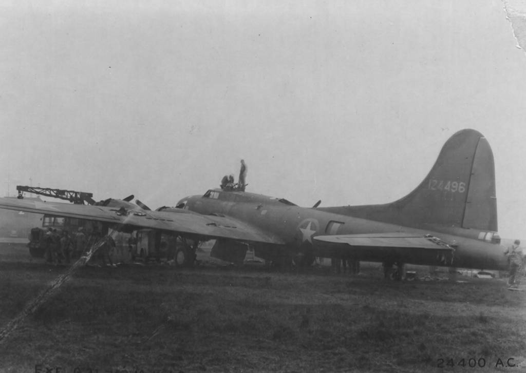 B-17 #41-24496 / Chennault's Pappy