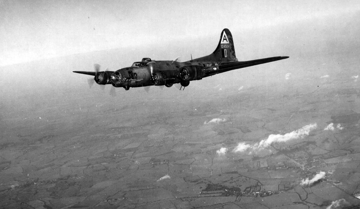 B-17 #41-24504 / Taurus aka The Sad Sack