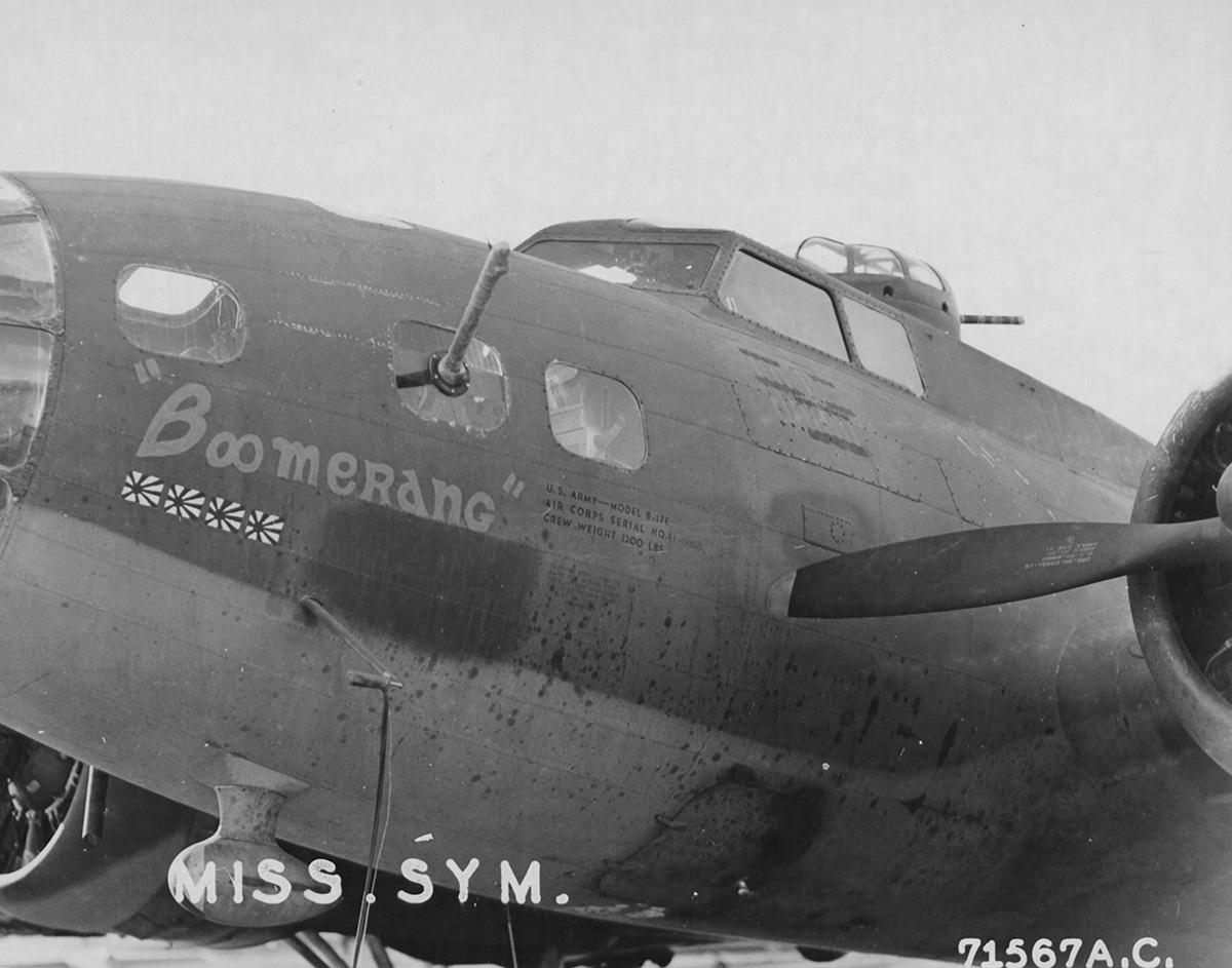 B-17 #41-9059 / Boomerang