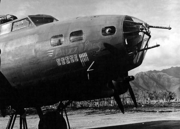 B-17 #41-9124 / Buzz King