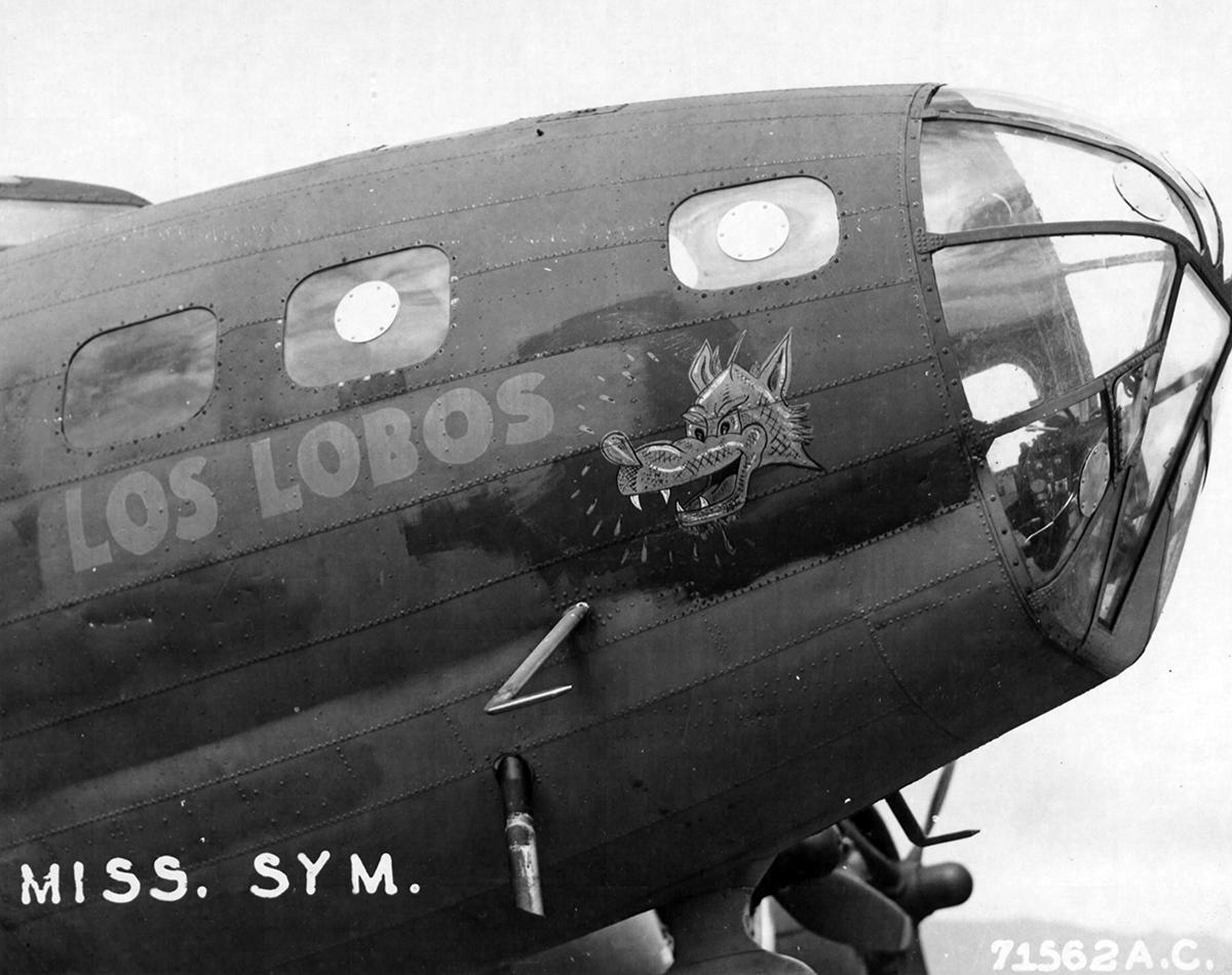 B-17 #41-9213 / Los Lobos aka Road Home aka Rover Boy