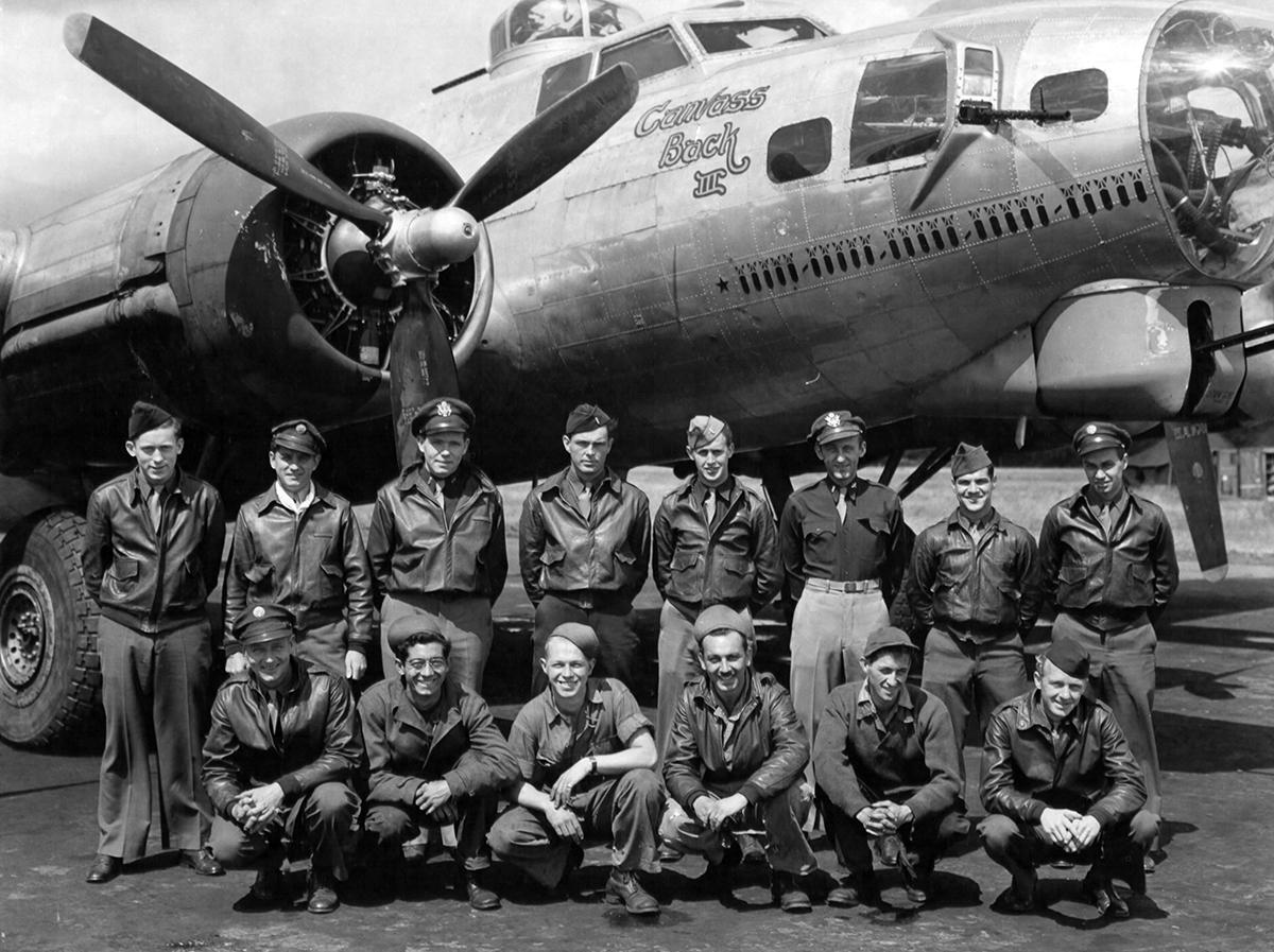 B-17 #42-102582 / Canvas Back III