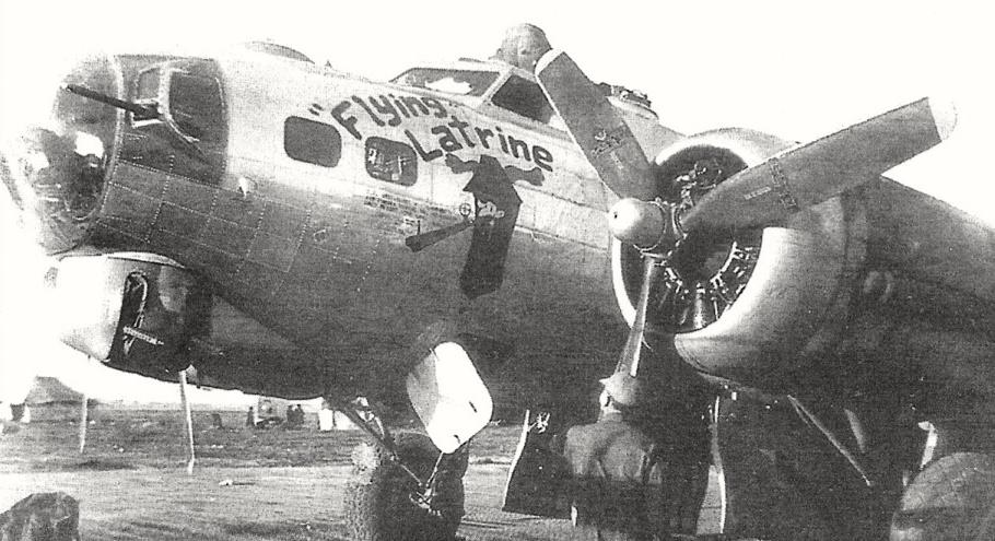 B-17 #42-102830 / Flying Latrine