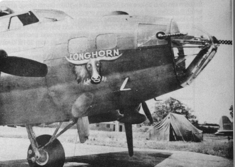 B-17 #42-3075 / Longhorn