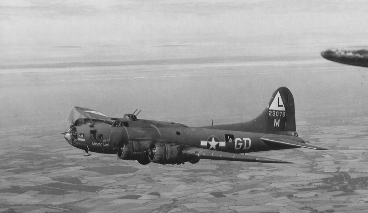 B-17 #42-3078 / Winnsome Winn