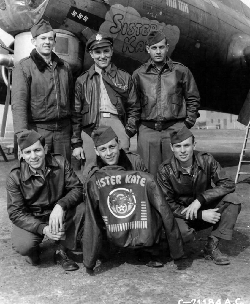 B-17 #42-31932 / Purdy Baby aka Miss Cue aka Sister Kate aka Rick-O-Shay IV