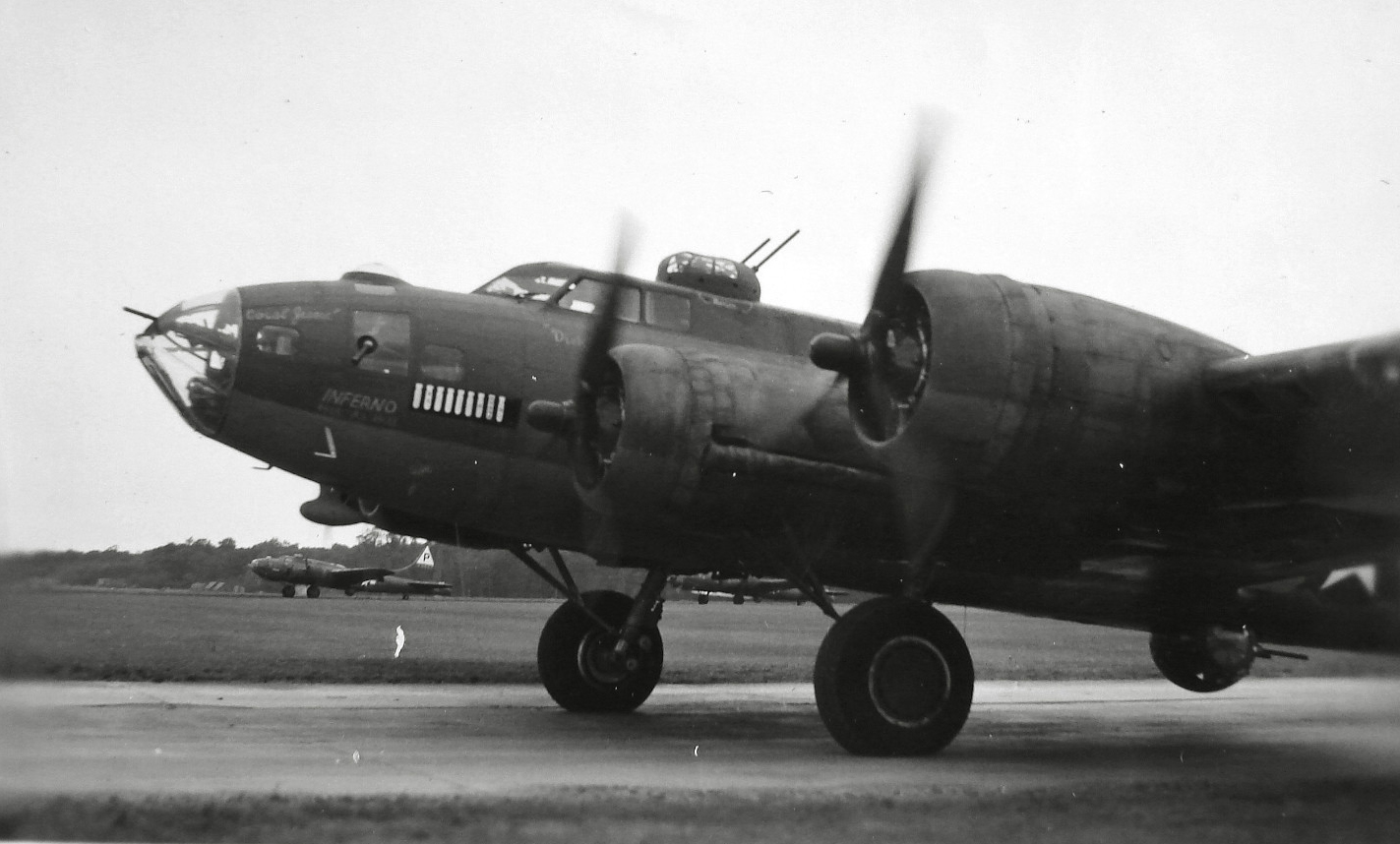 B-17 #42-3231 / The Inferno