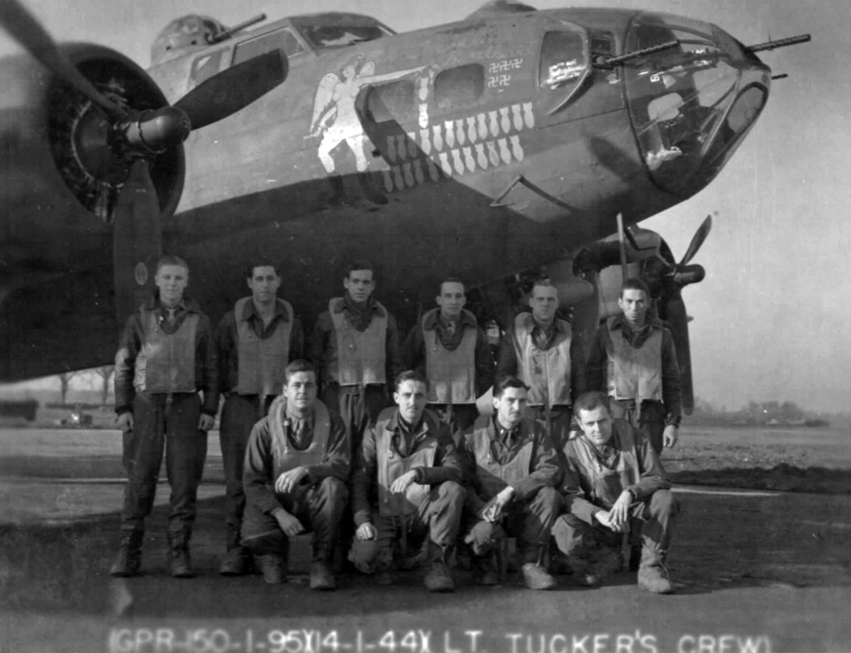 B-17 #42-3400 / The Gremlin's Sweetheart