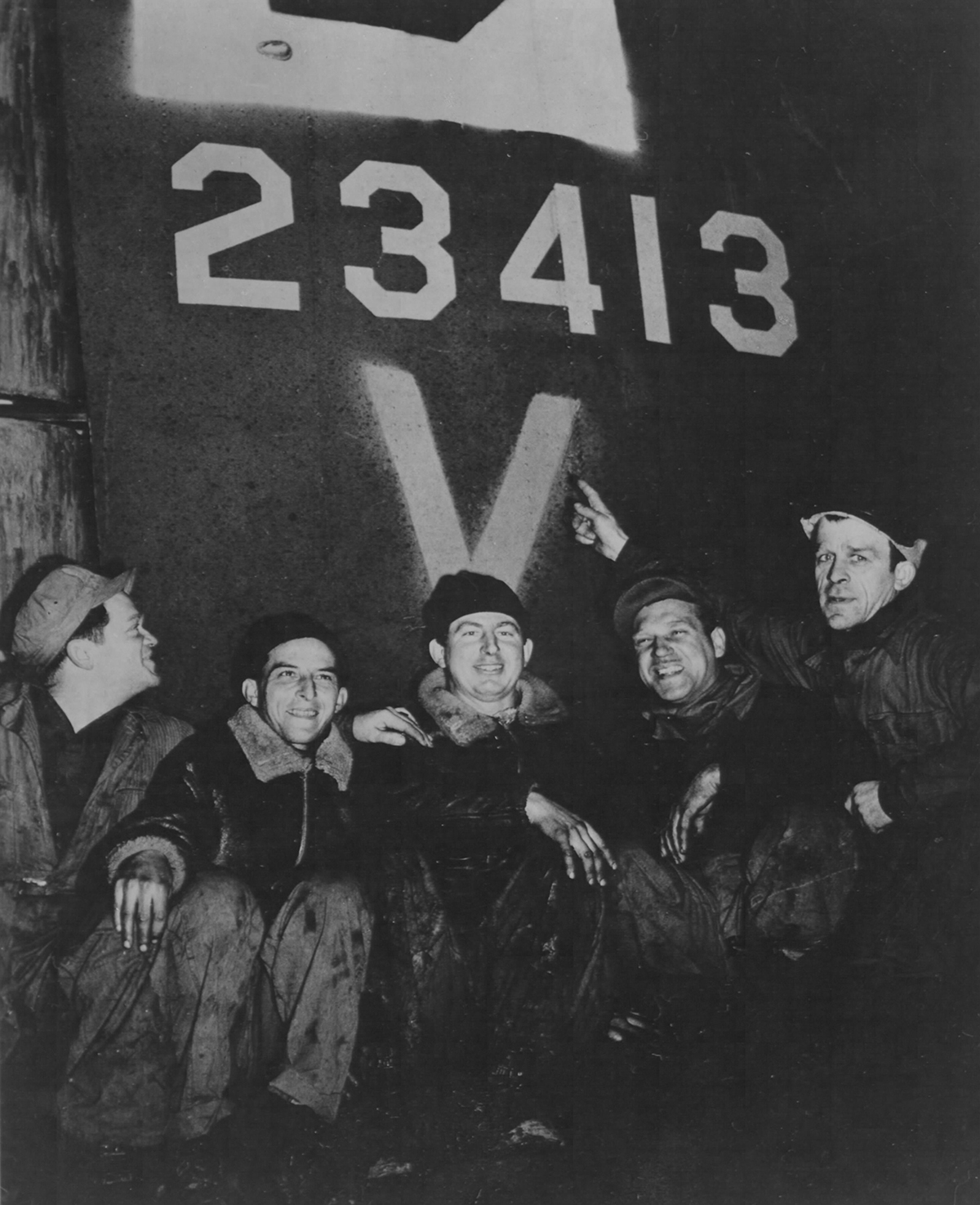 B-17 #42-3413 / Hard Luck