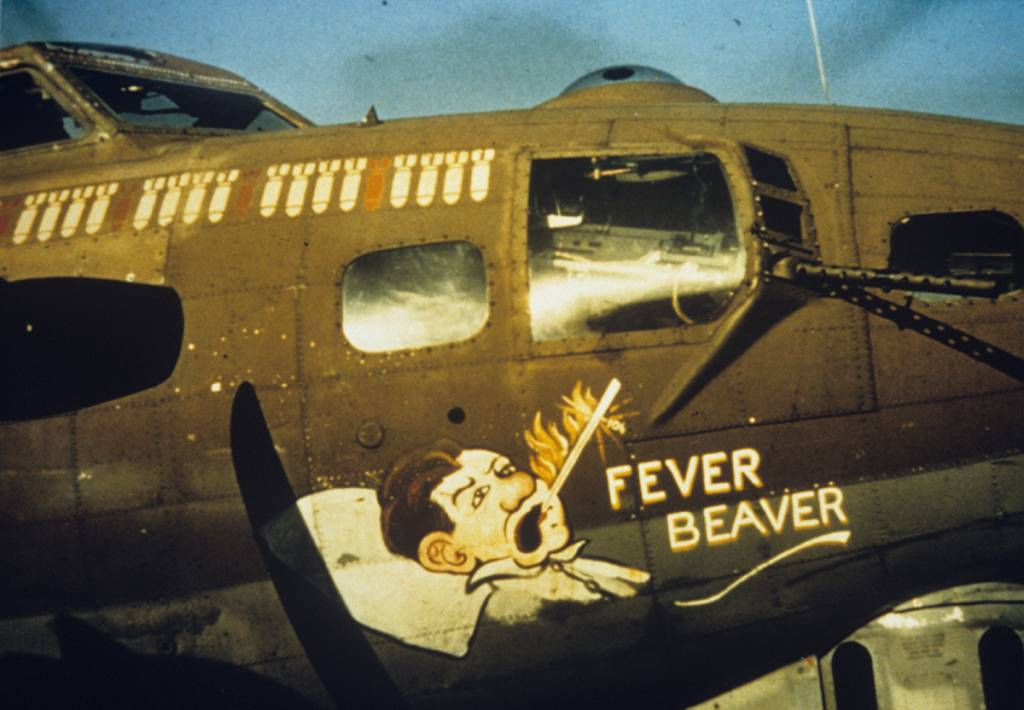 B-17 #42-38047 / Fever Beaver aka Shady Lady aka Melancholy Baby aka Little Mommy