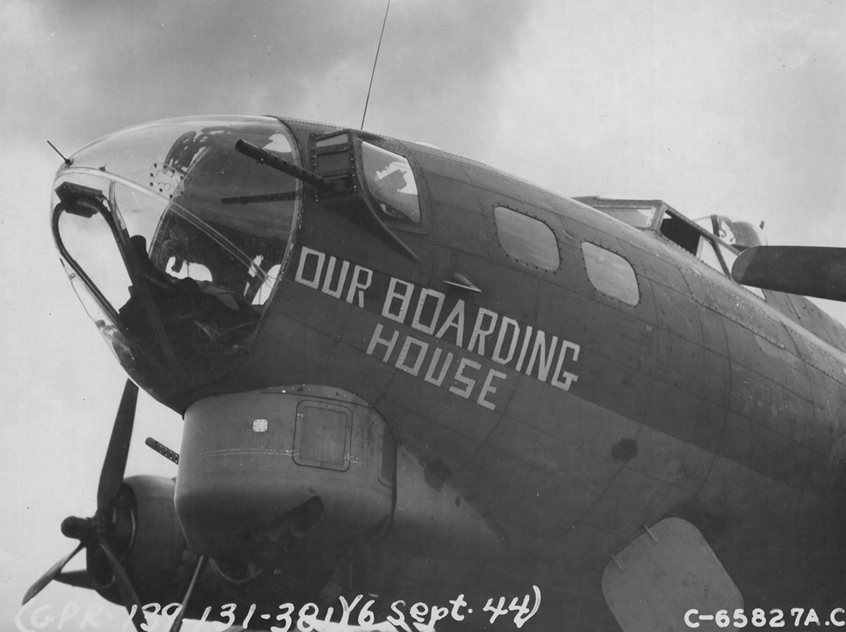 B-17 #42-38103 / Our Boarding House