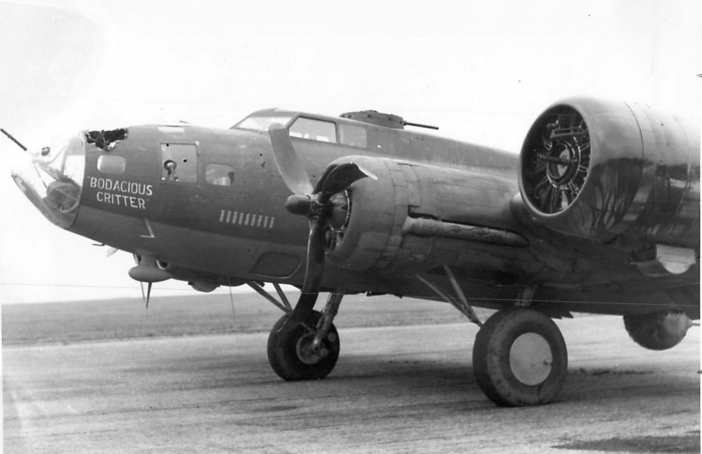 B-17 #42-5251 / Pride of Karians aka Bodacious Critter