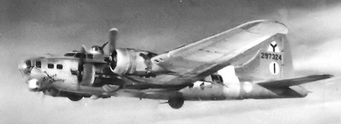B-17 #42-97324 / Silver Sheen