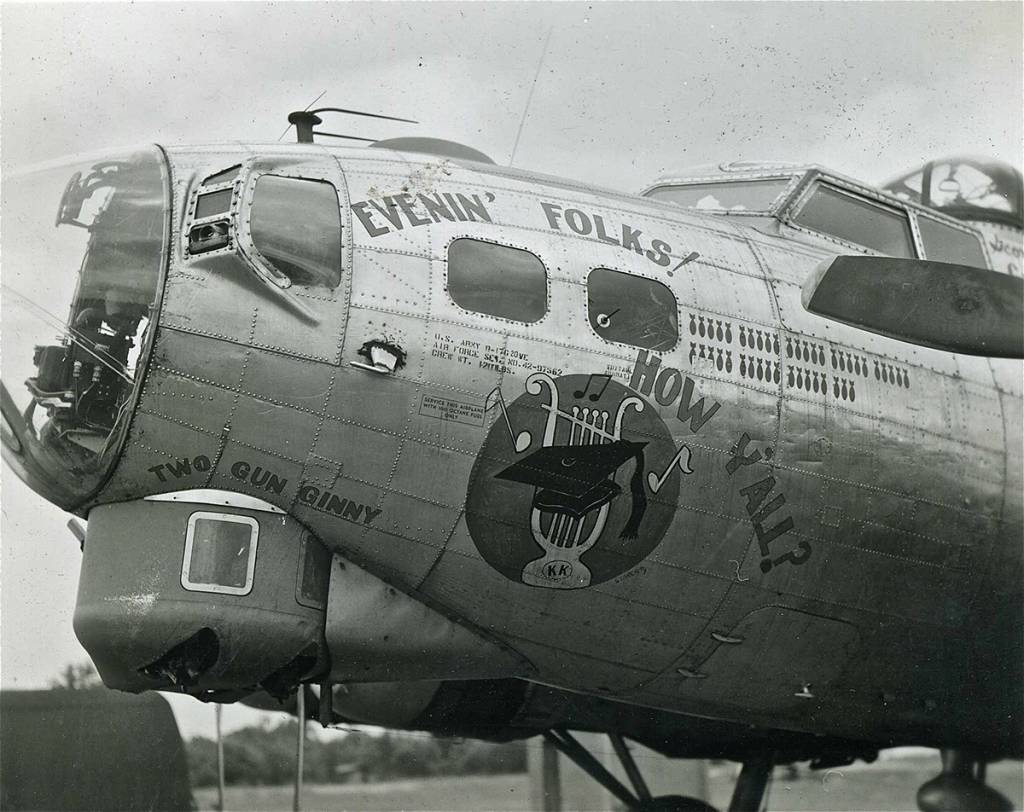 B-17 #42-97562 / Evenin' Folks! How Y'all?