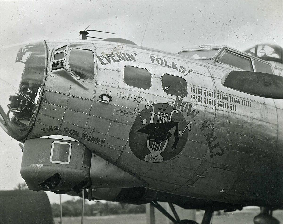B-17 #42-97562 / Evenin' Folks! How Y'all?