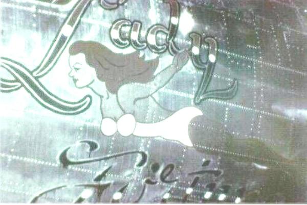 B-17 #42-97858 / Lady of Fortune aka Carmen's folly