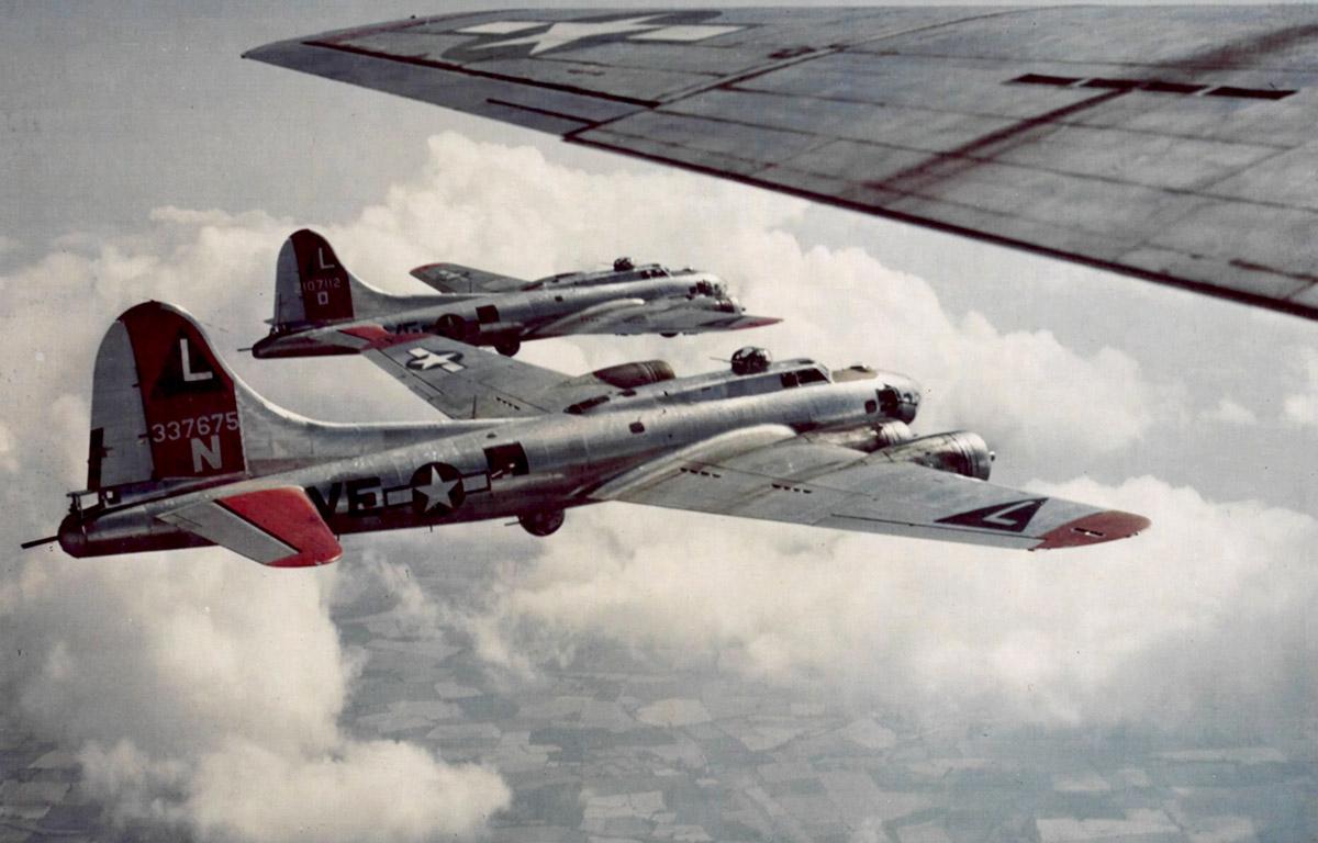 B-17 #43-37675 / Trudie's Terror aka Patches aka Flak Magnet aka Patche's N' Prayers