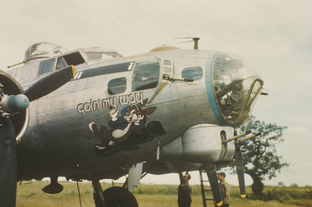 B-17 #43-38865 / Goin' My Way