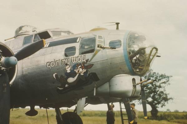 B-17 #43-38865 / Goin' My Way