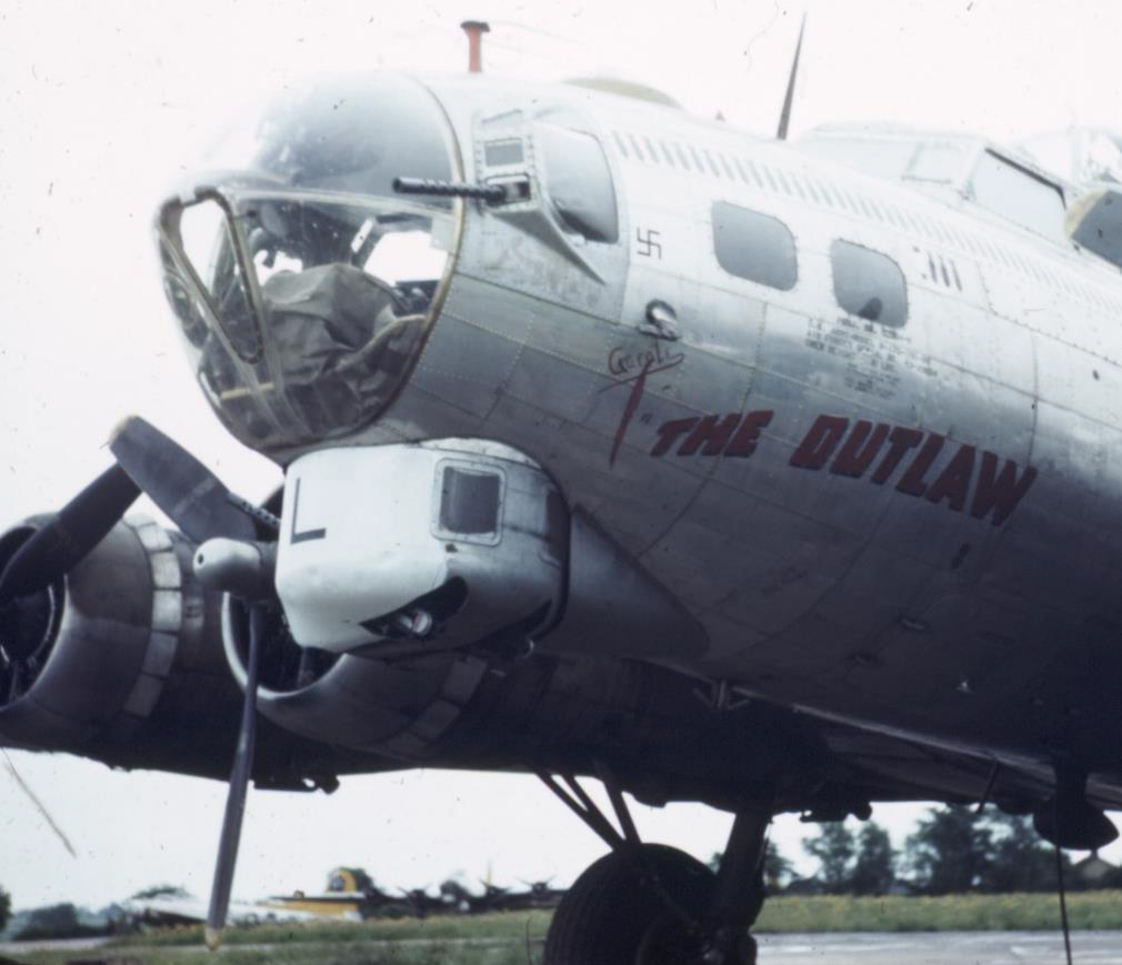 B-17 #43-39034 / The Outlaw