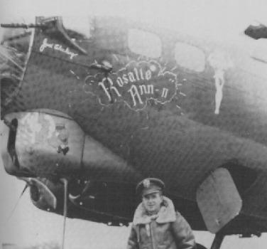 B-17 #44-8201 / Rosalle Ann II