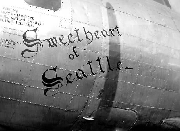 B-17 #44-8210 / Sweetheart of Seattle