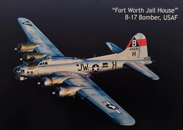 B-17 #44-8436 / Fort Worth Jail House