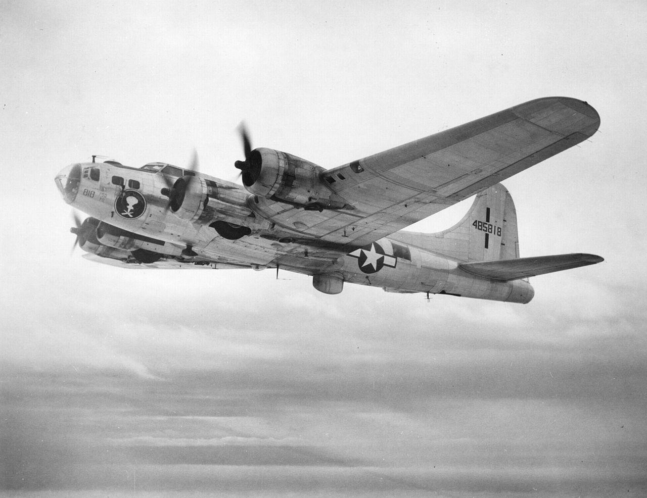 B-17 #44-85818