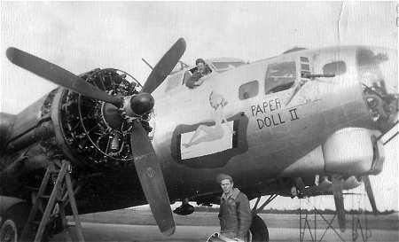 B-17 #42-107052 / Paper Doll II