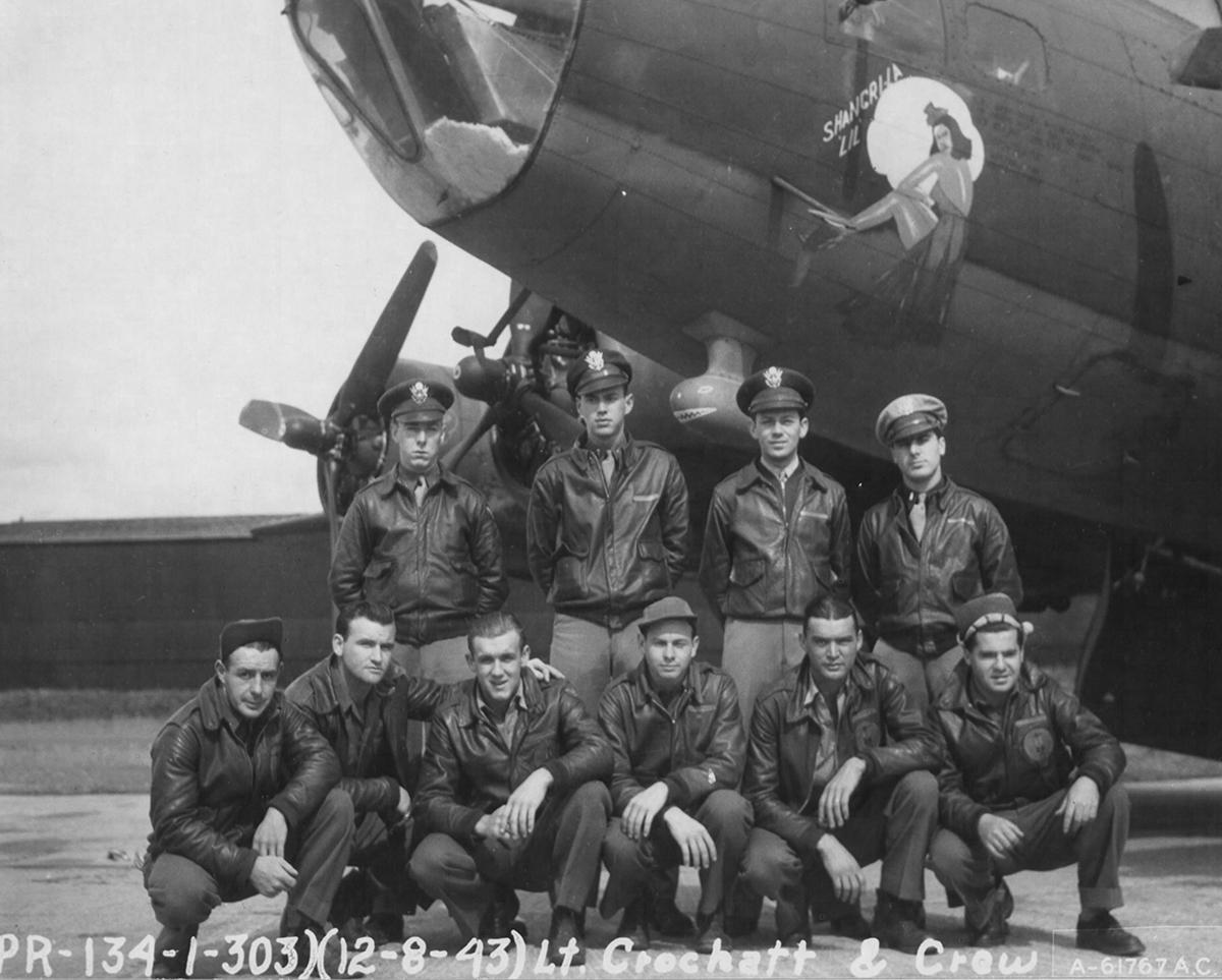 B-17 #42-29754 / Mason's Morons aka Shangri-La Lil