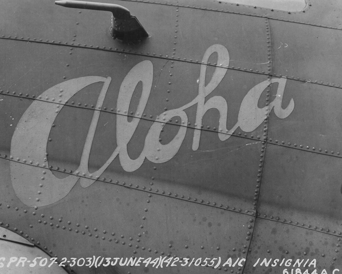 B-17 #42-31055 / Aloha