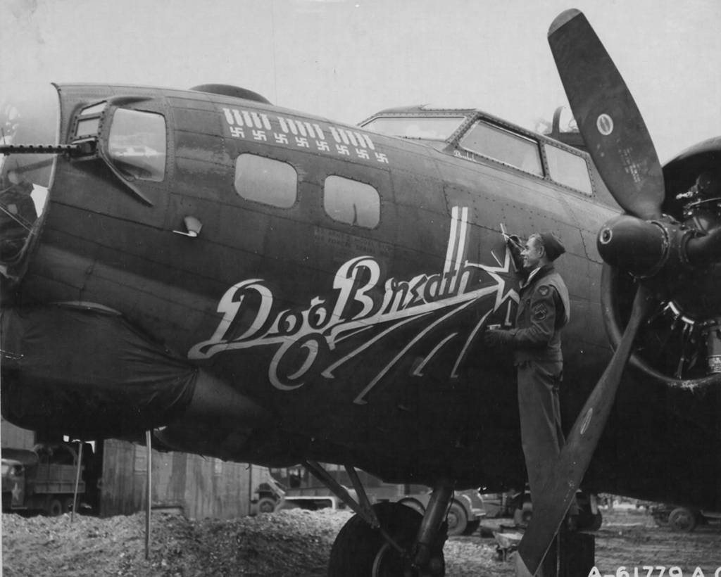 B-17 #42-31330 / Dog Breath
