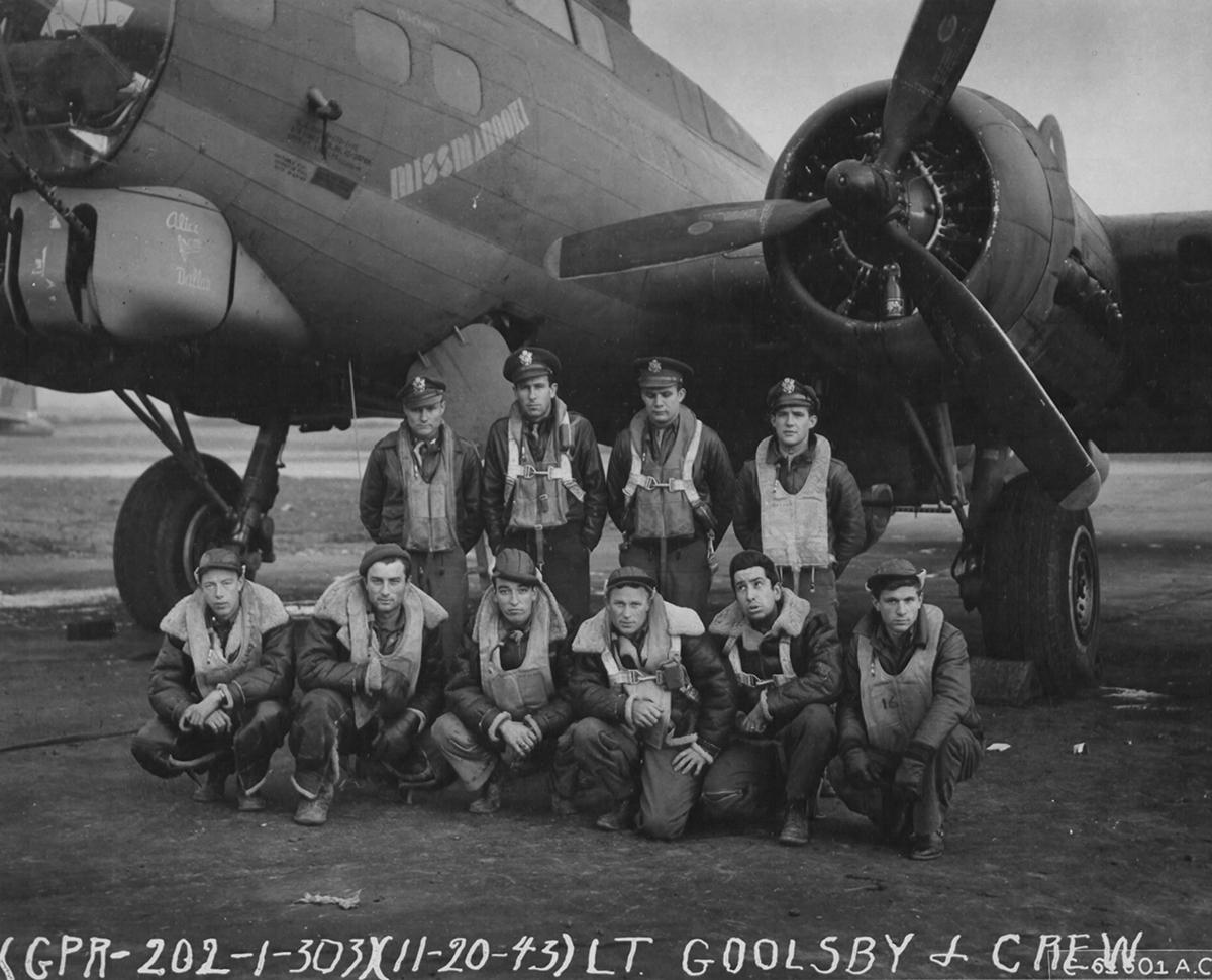 B-17 #42-39769 / Miss Manooki