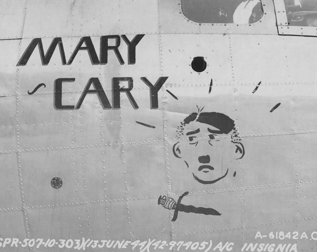 B-17 #42-97405 / Mary Cary