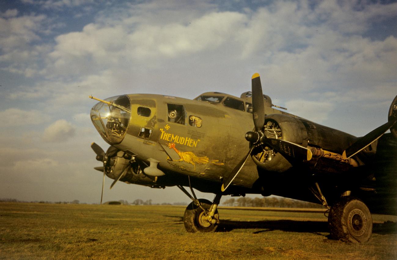 B-17 #41-24434 / The Mudhen