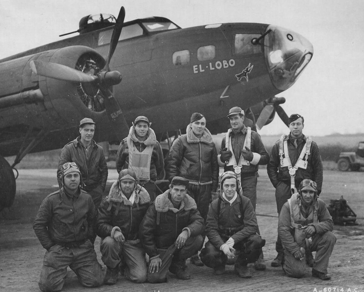 B-17 #41-24593 / El Lobo
