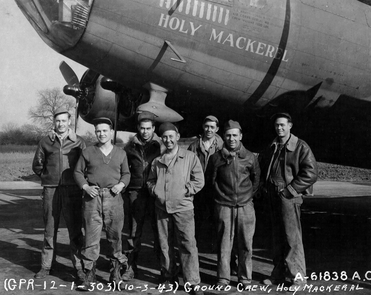 B-17 #41-24609 / Holy Mackerel