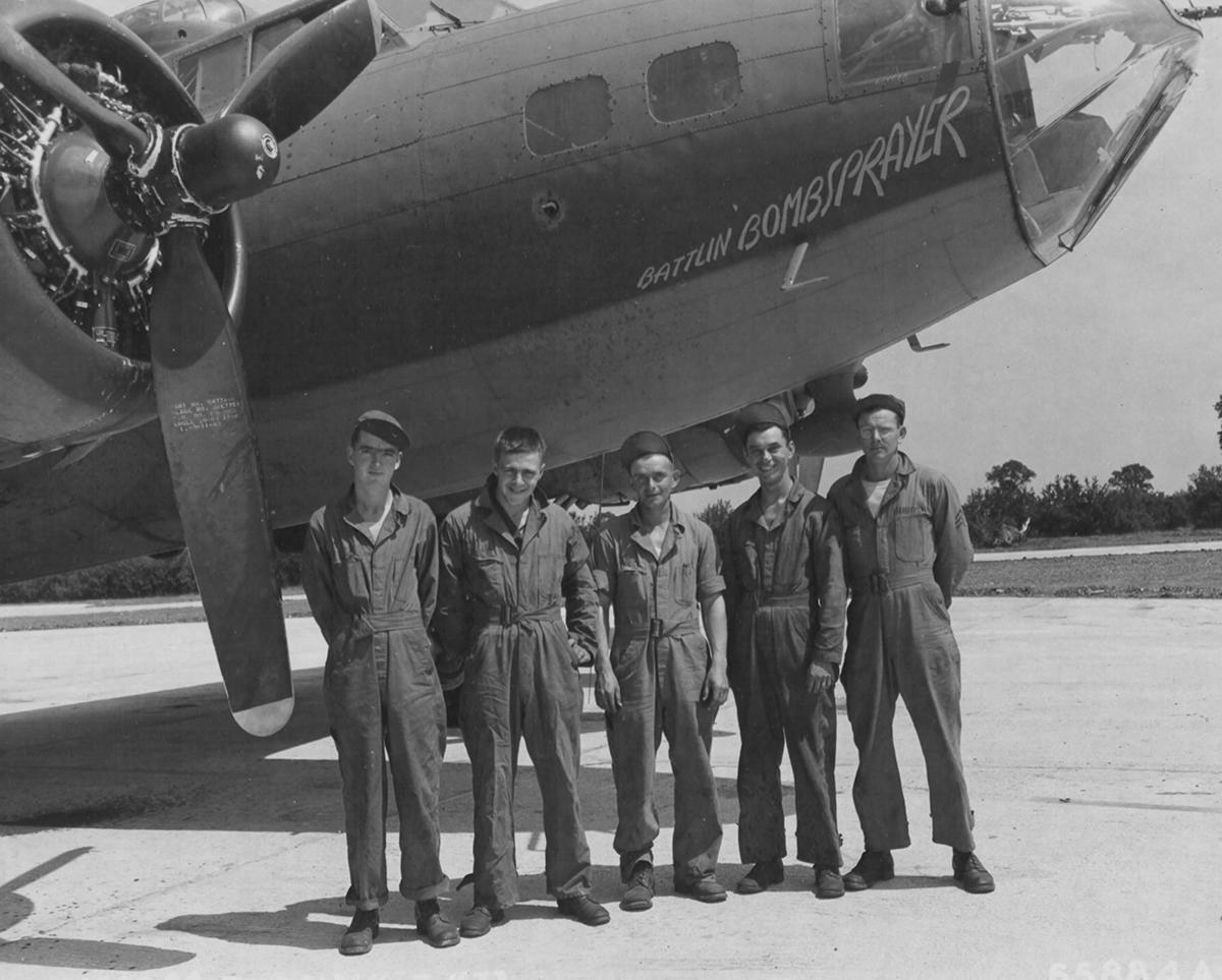 B-17 #42-29958 / Battlin' Bombsprayer
