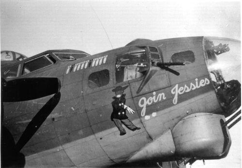 B-17 #42-31051 / Goin Jessies