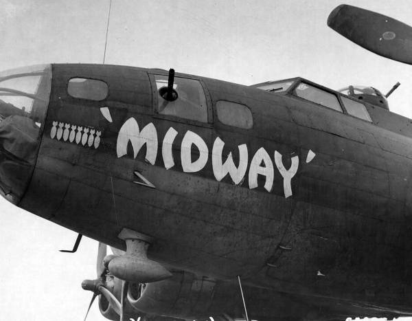 B-17 #42-3134 / Midway