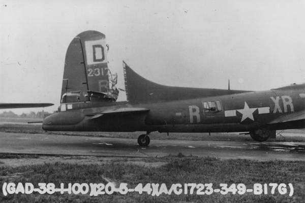 B-17 #42-31723 / Sparky