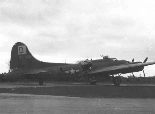 B-17 #42-31968 / Miss Irish