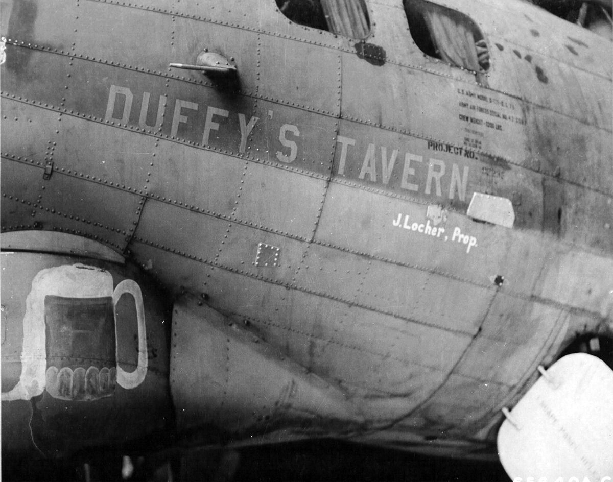 B-17 #42-3507 / Duffy's Tavern