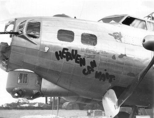 B-17 #43-37517 / Heaven Can Wait