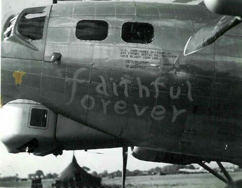B-17 #43-38408 / Faithful Forever